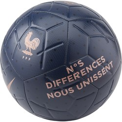 Ballon Equipe de France Strike bleu or 2019