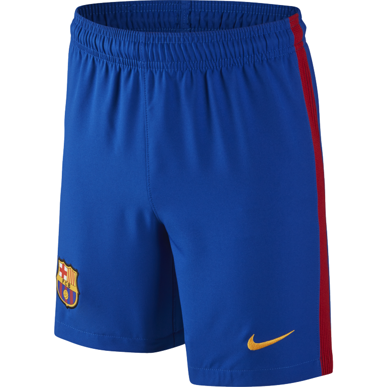 Short domicile junior FC Barcelone 2016 - 2017