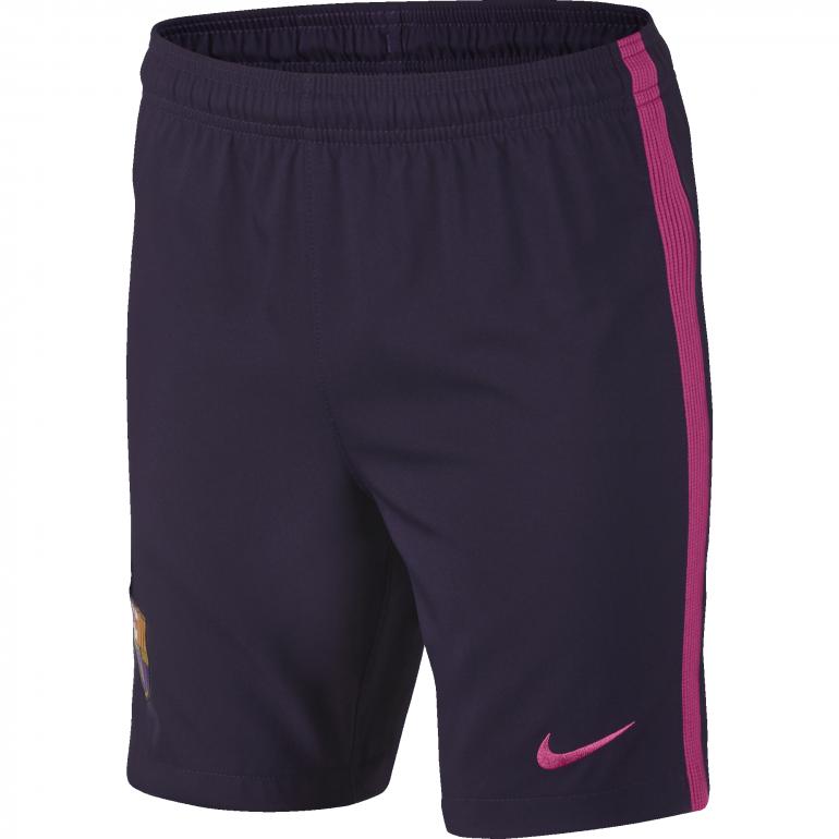 Short extérieur junior FC Barcelone 2016 - 2017
