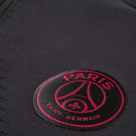 Sweat zippé PSG VaporKnit noir rouge 2019/20