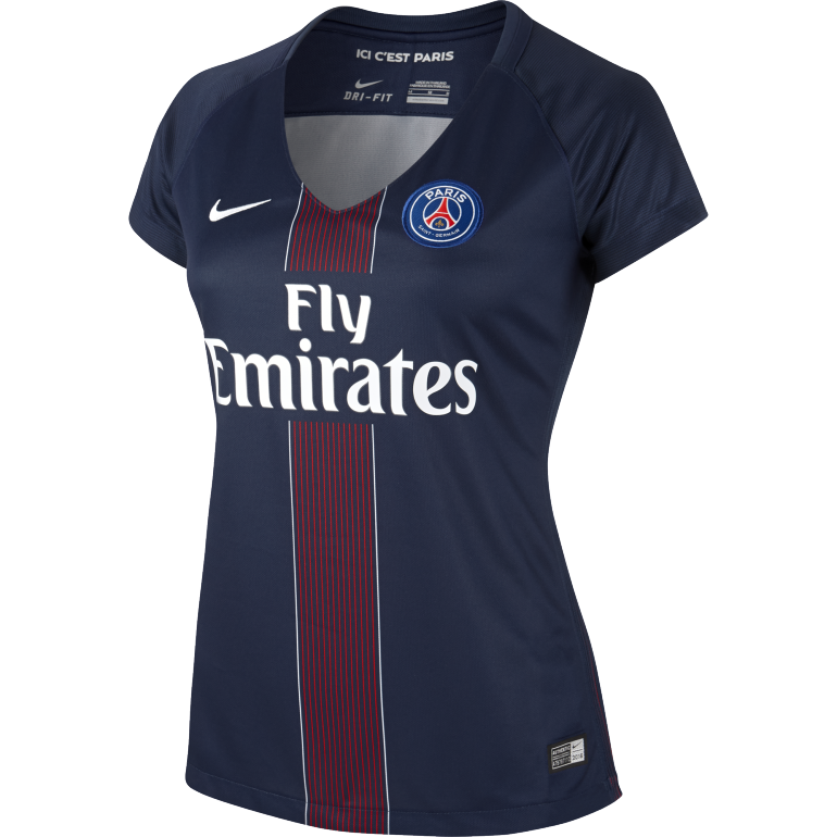 Maillot PSG femme domicile 2016 - 2017