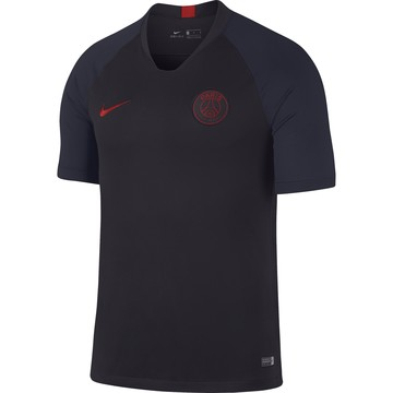Maillot entraînement PSG noir rouge 2019/20