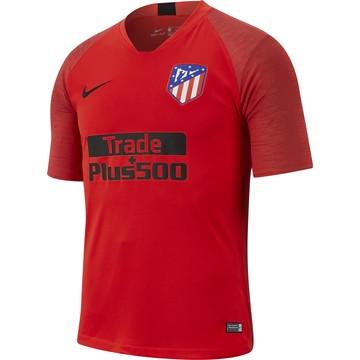 Maillot entraînement Atlético Madrid rouge noir 2019/20