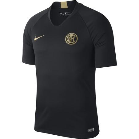 Maillot entraînement Inter Milan noir or 2019/20