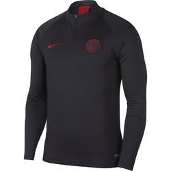 Sweat zippé PSG noir rouge 2019/20