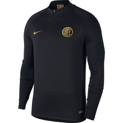 Sweat zippé Inter Milan noir or 2019/20