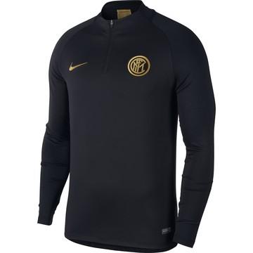Sweat zippé Inter Milan noir or 2019/20