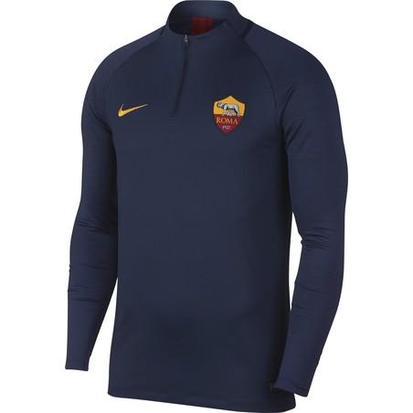 Sweat zippé AS Roma bleu 2019/20
