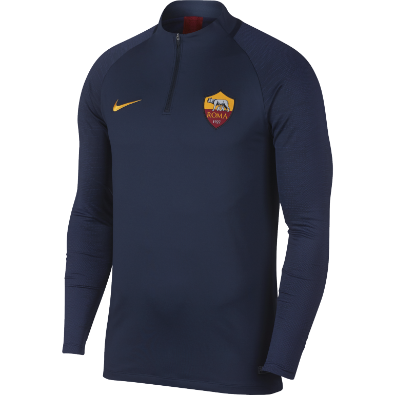 Sweat zippé AS Roma bleu 2019/20