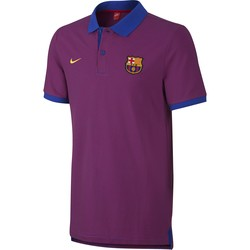 Polo FC Barcelone violet 2016 - 2017