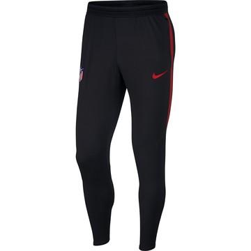 Pantalon survêtement Atlético Madrid noir rouge 2019/20