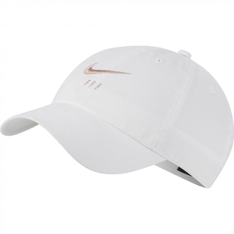 Casquette Equipe de France blanc H86 2019