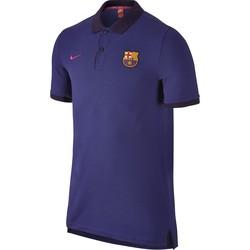 Polo FC Barcelone bleu 2016 - 2017