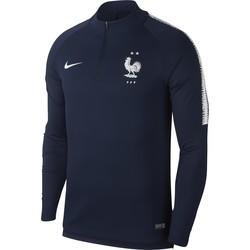 Sweat zippé Equipe de France 2 étoiles bleu 2018