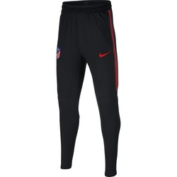 Pantalon survêtement junior Atlético Madrid noir rouge 2019/20