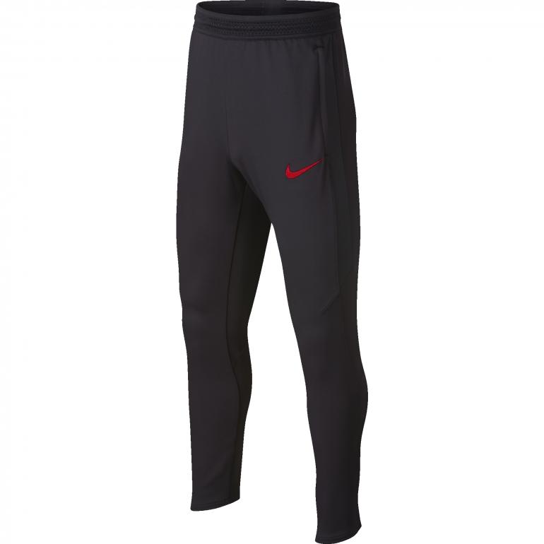 Pantalon survêtement PSG junior noir rouge 2019/20