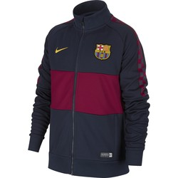 Veste survêtement junior FC Barcelone I96 bleu rouge 2019/20