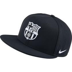 Casquette visière plate FC Barcelone noire