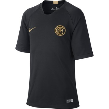 Maillot entraînement junior Inter Milan noir or 2019/20
