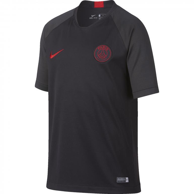 Maillot entraînement junior PSG noir rouge 2019/20