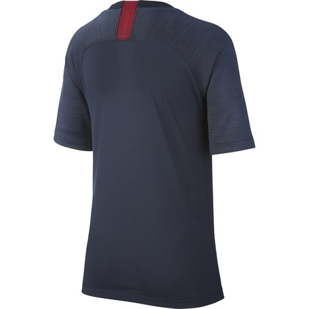 Maillot entraînement junior AS Roma noir bleu 2019/20