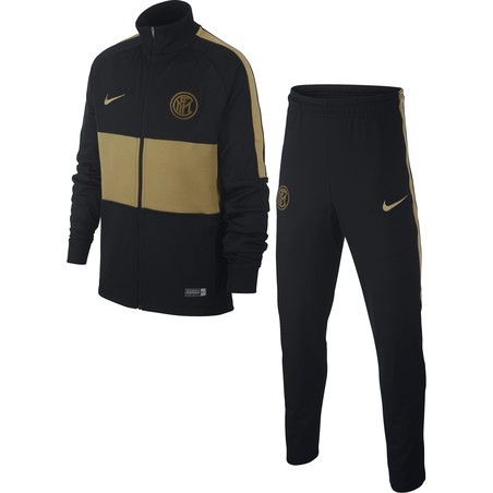 Ensemble survêtement junior Inter Milan noir or 2019/20