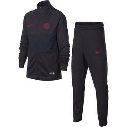 Ensemble survêtement PSG junior noir rouge 2019/20