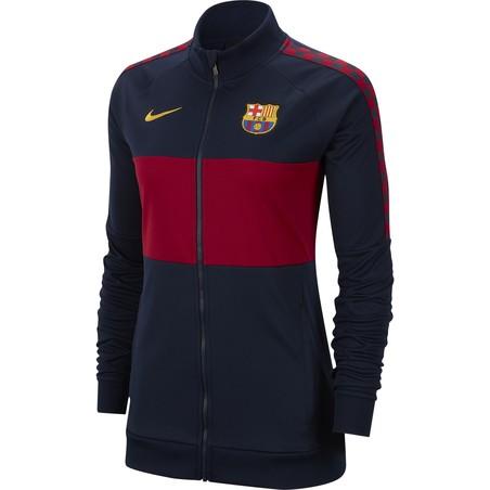 Veste survêtement Femme FC Barcelone I96 bleu rouge 2019/20