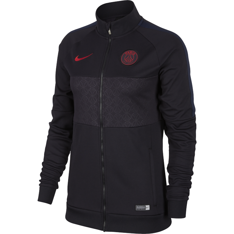 Veste survêtement Femme PSG I96 noir rouge 2019/20