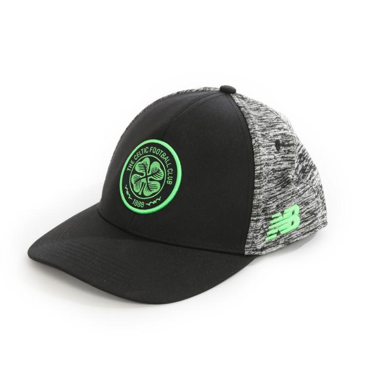 Casquette visière plate Celtic Glasgow noir 2017/18