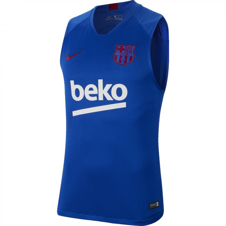 Maillot sans manches FC Barcelone bleu 2019/20