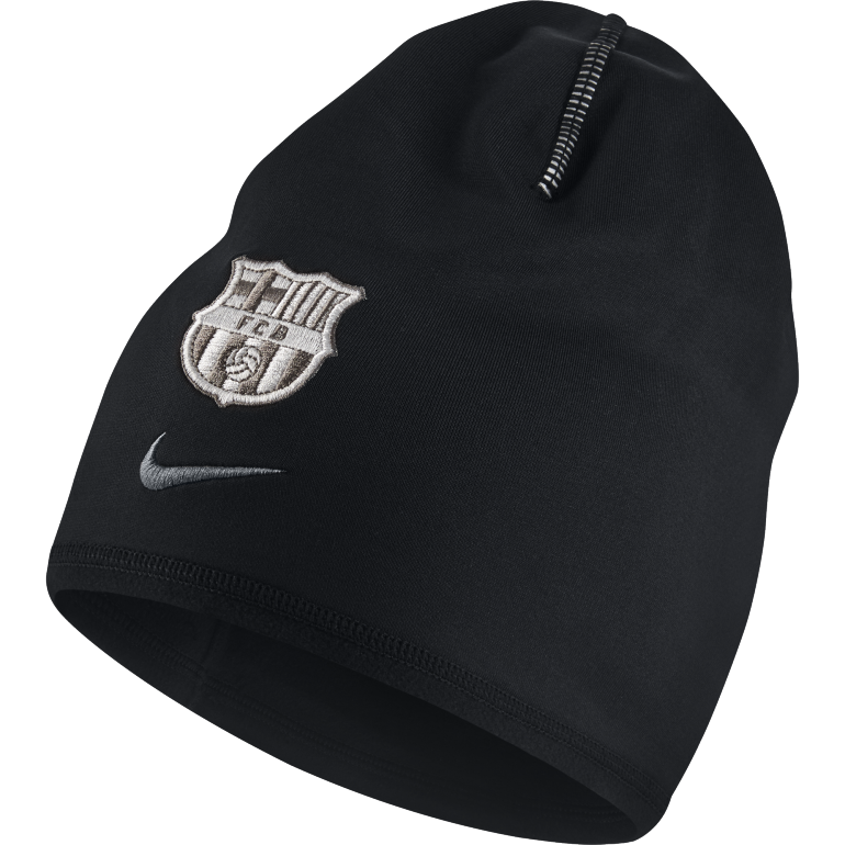 Bonnet FC Barcelone noir