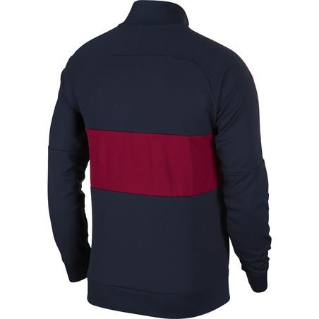Veste survêtement FC Barcelone I96 bleu rouge 2019/20