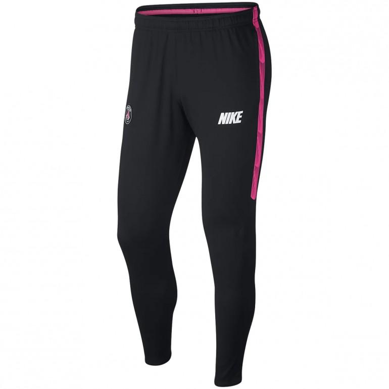 Pantalon survêtement PSG noir rose Nike 2018/19