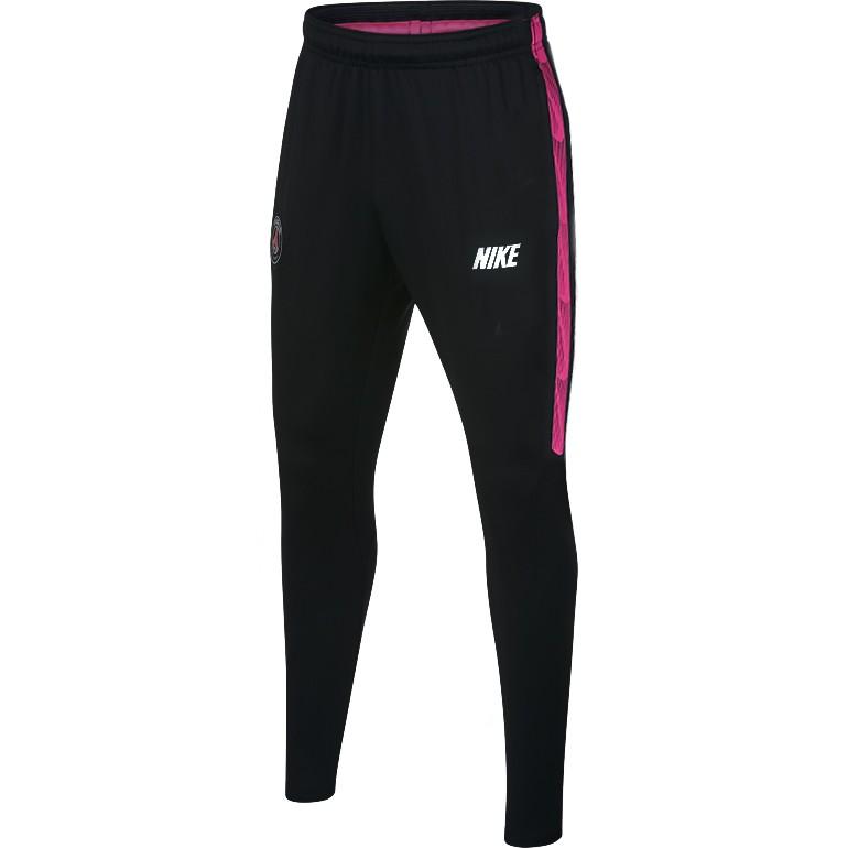 Pantalon survêtement junior PSG noir rose Nike 2018/19