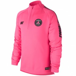 Sweat zippé junior PSG rose 2018/19