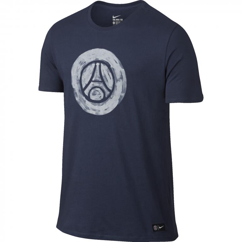 T-Shirt PSG Crest bleu