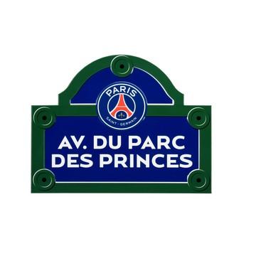 Plaque de rue PSG Avenue du Parc des Princes