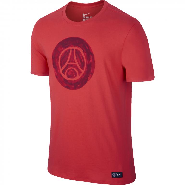 T-Shirt PSG Crest rouge
