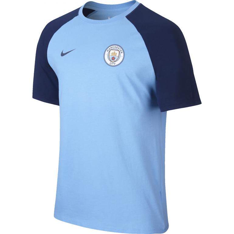 T-shirt Manchester City bleu 2016 - 2017