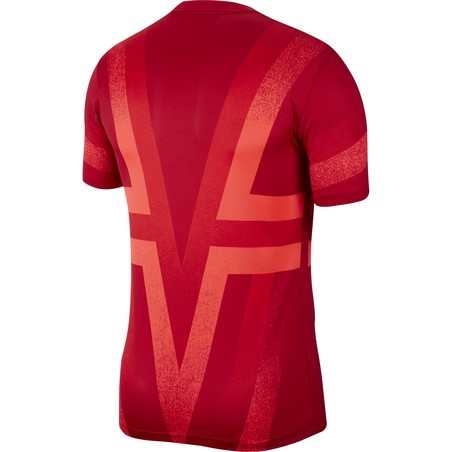 Maillot avant match Atlético Madrid rouge 2019/20
