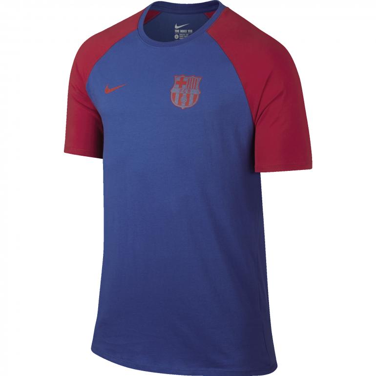 T-shirt FC Barcelone bleu 2016 - 2017