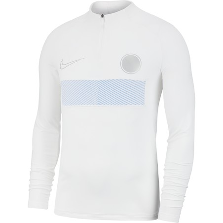 Sweat zippé Nike AEROADAPT blanc 2019/20