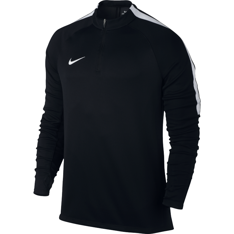 Sweat Zippé Nike Drill Top noir