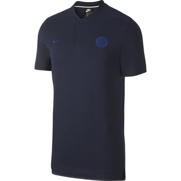 Polo Chelsea Authentique bleu foncé 2019/20