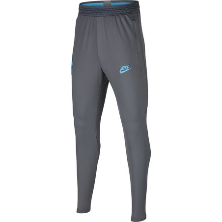 Pantalon survêtement junior Tottenham gris bleu 2019/20