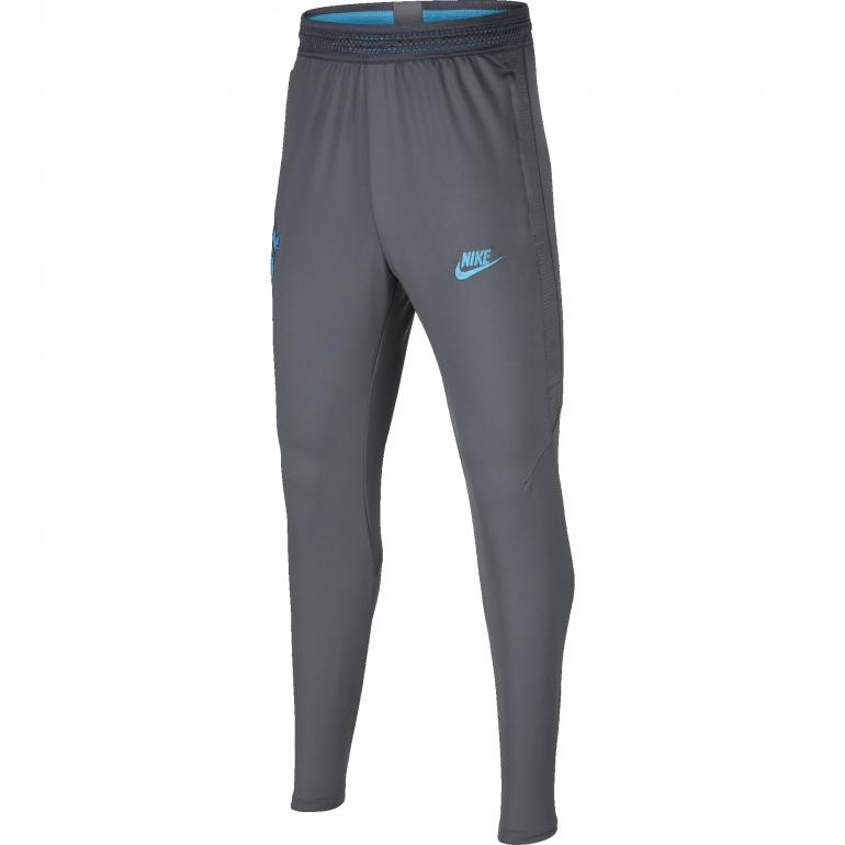 Pantalon survêtement junior Tottenham gris bleu 2019/20