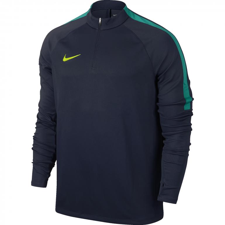 Sweat Zippé Nike Drill Top bleu