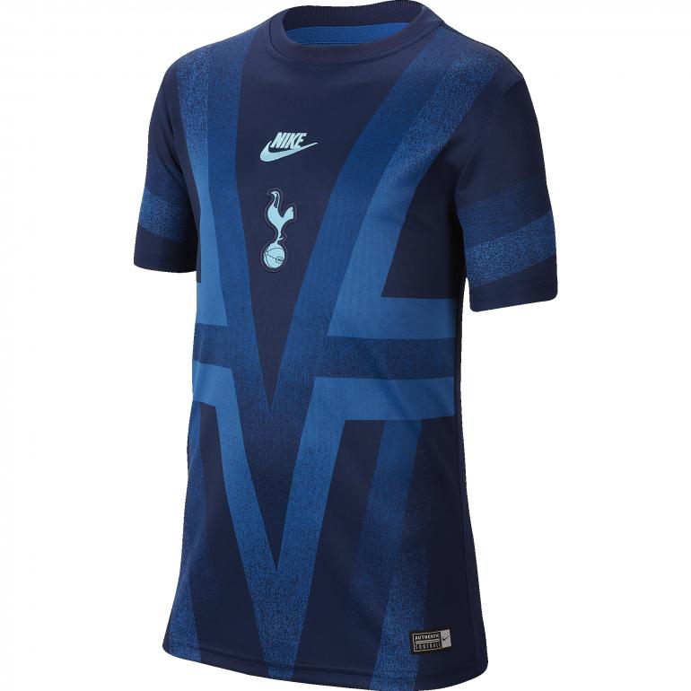 Maillot entraînement junior Tottenham graphic bleu 2019/20
