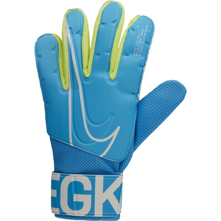 Gants gardien Nike Match bleu